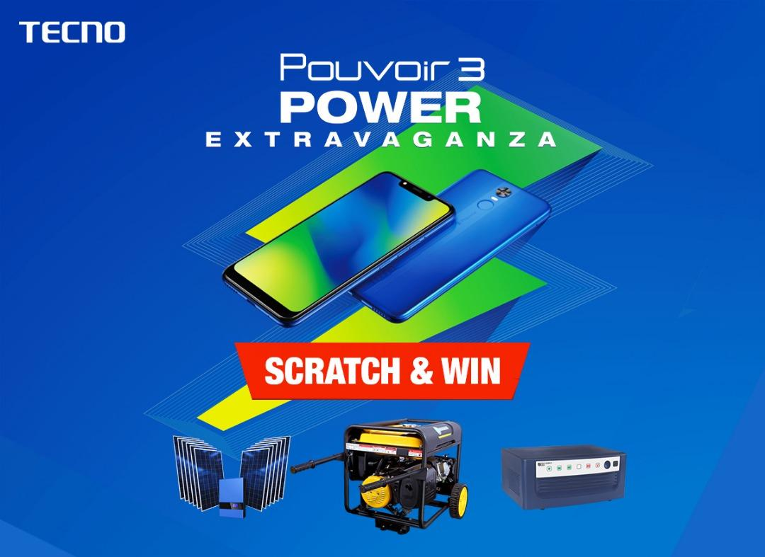 {filename}-Buy Tecno Pouvoir 3 And Win Solar Power Inverter, Generating Sets And Other Valuable Items