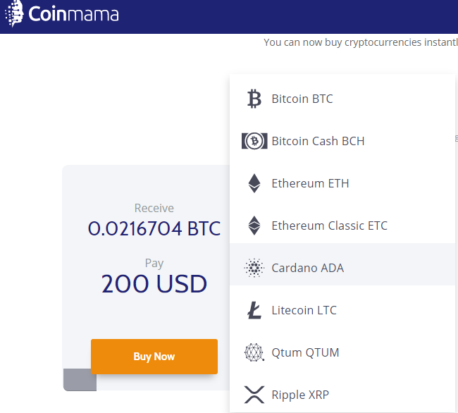 Coinmama review-safest place to purchase Bitcoin & altcoins instantly 1