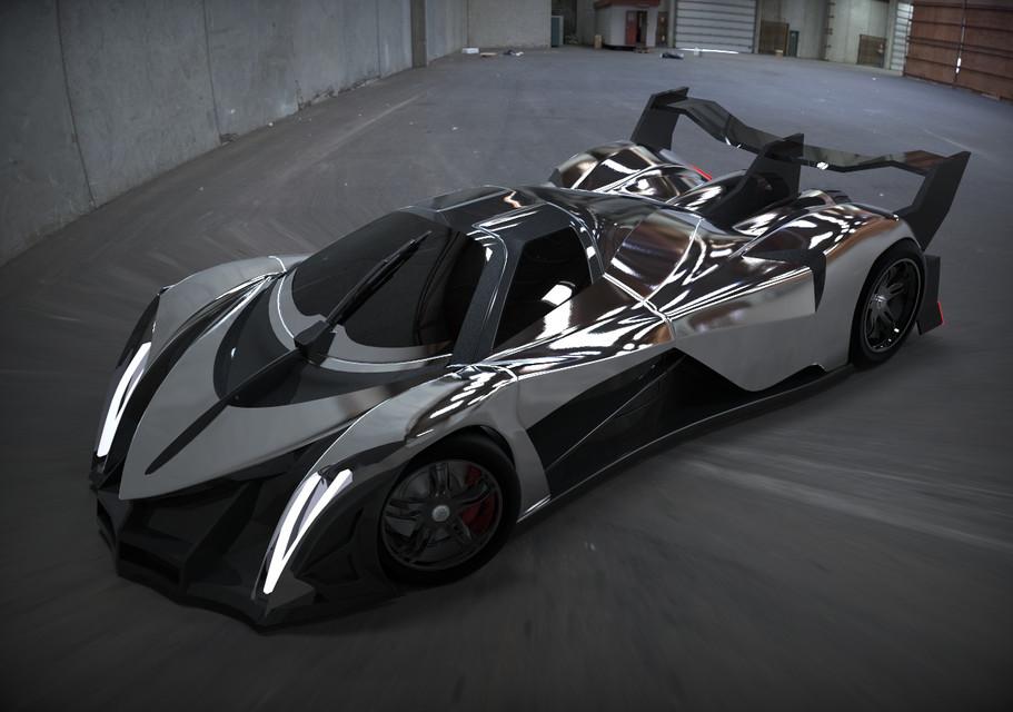 Devel Sixteen Prototype >> Překoná supersport Devel Sixteen rychlost 500 km/h? - Král motorů