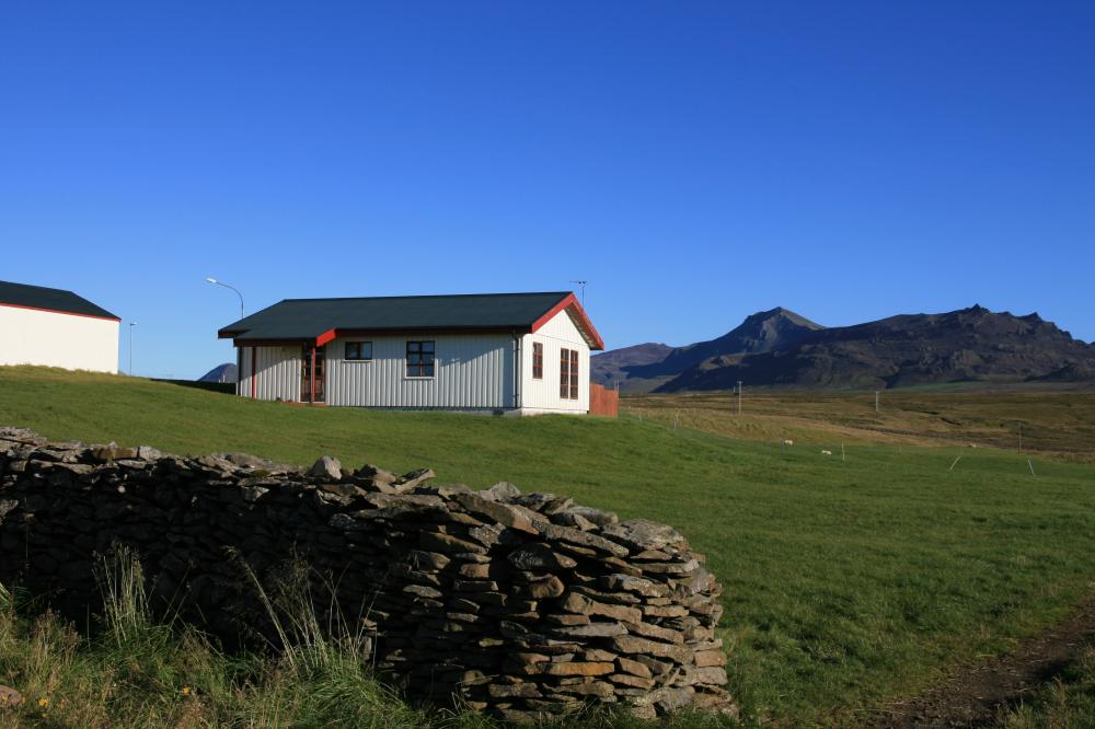 Beautiful cottage in Snæfellsnes Peninsula, West Iceland