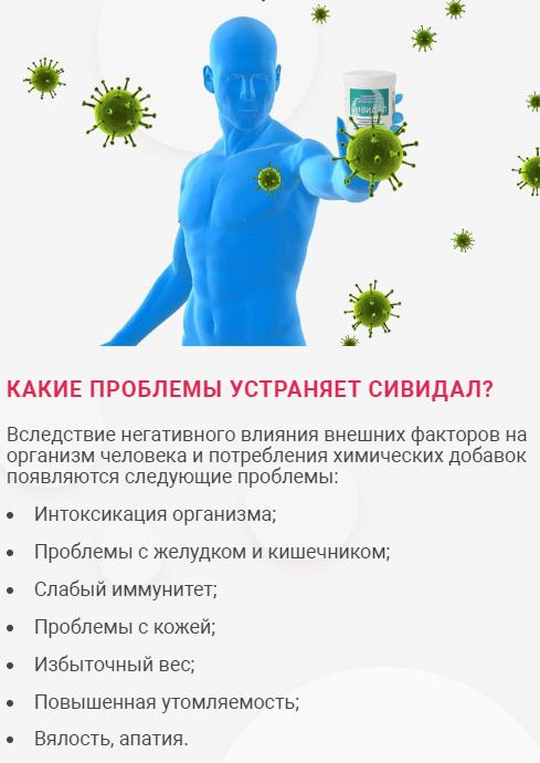лекарства сивидал