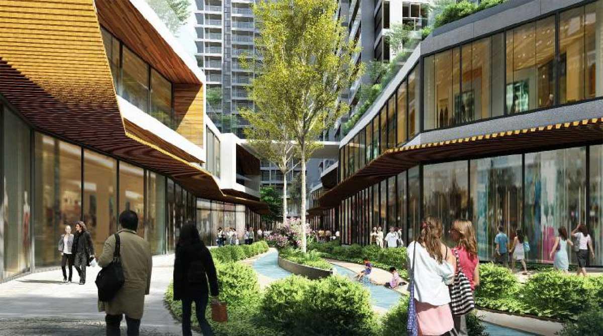 Dự án City Gate 5 và Dự án D-Aqua những điểm đến của tương lai