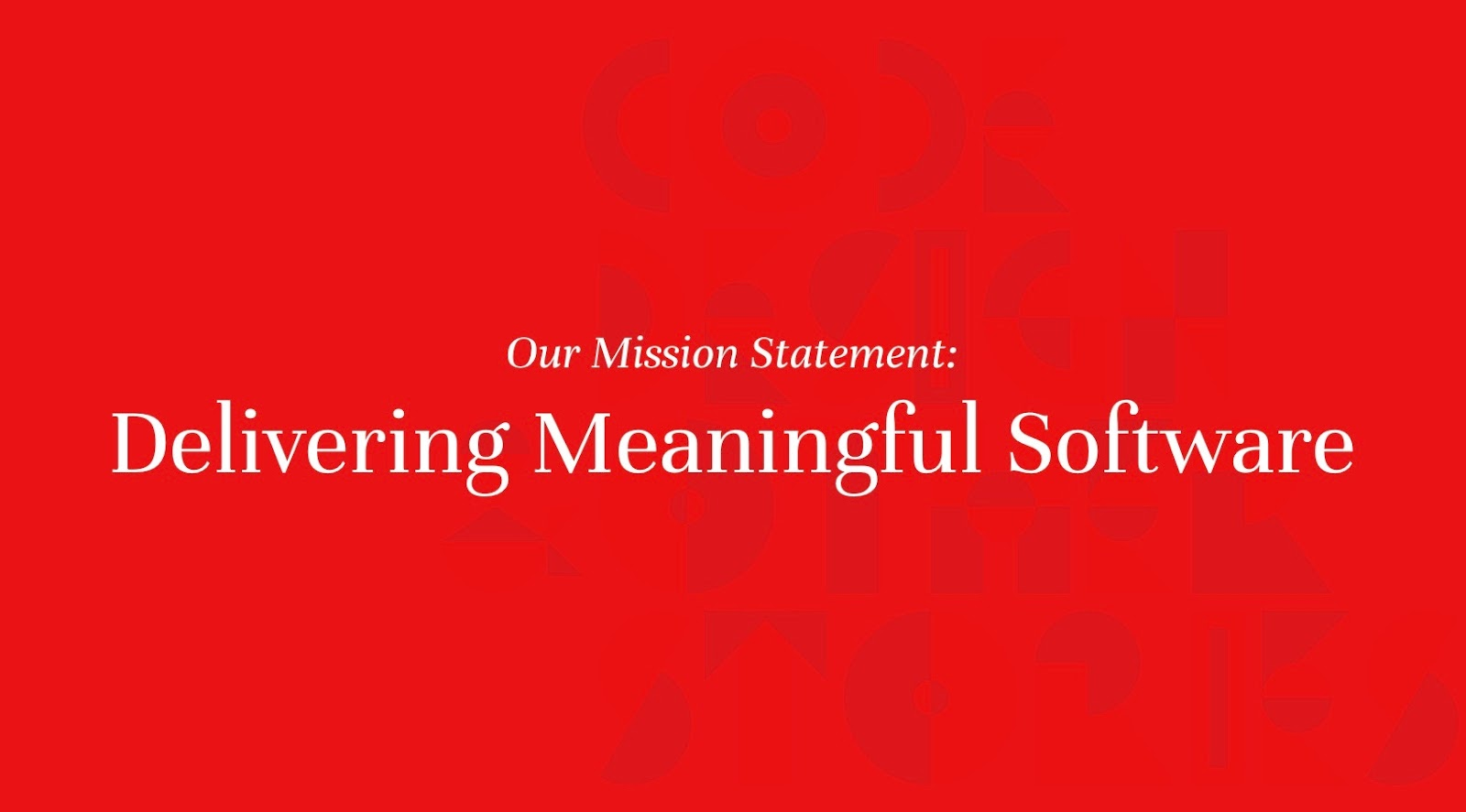 Monterail's Mission Statement—Delivering Meaningful Software