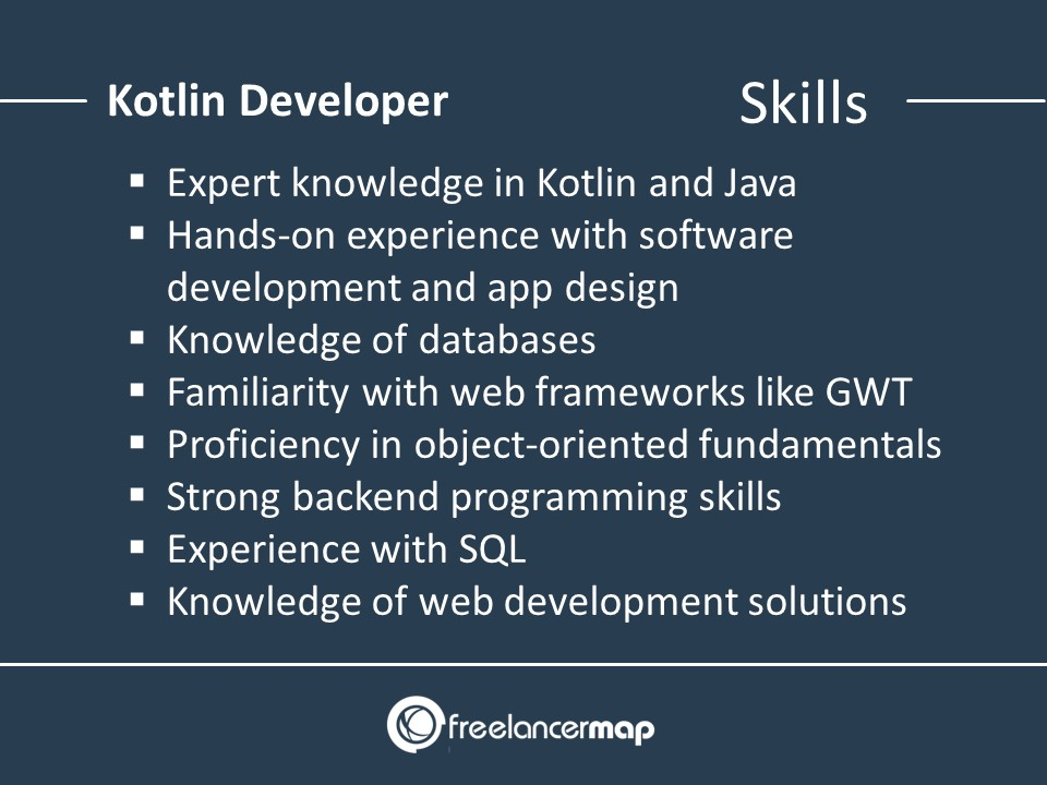 Skills of a Kotlin Developer