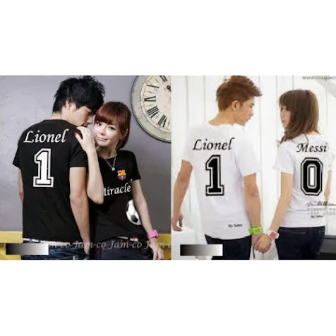 Baju Couple Lengan Pendek