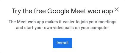Novedades Google Meet