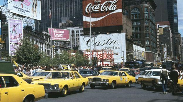 Таймс-сквер в 1979 году