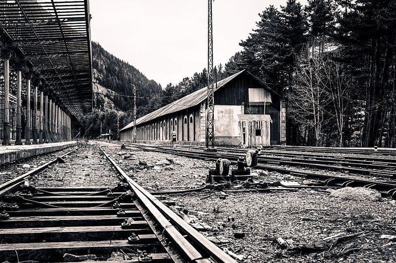 La estación de Canfranc a finales de los años 20
