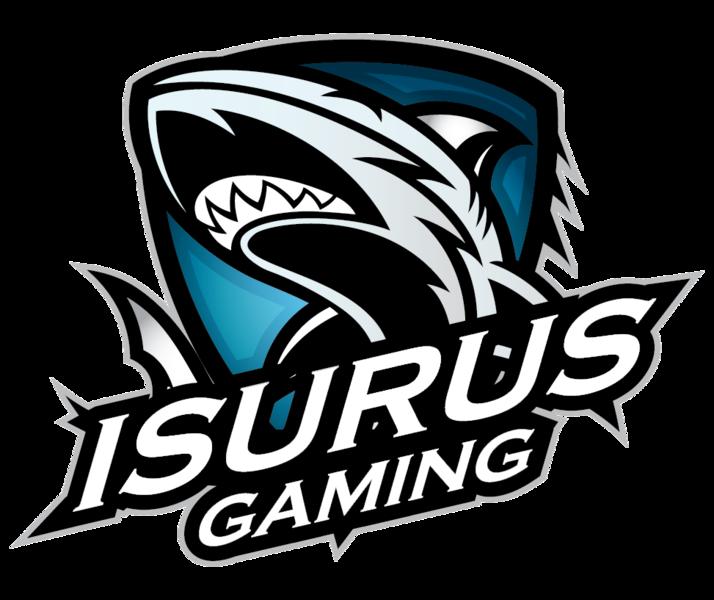 Znalezione obrazy dla zapytania isurus gaming logo