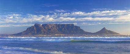 best view of Table Mountain from Muizenberg