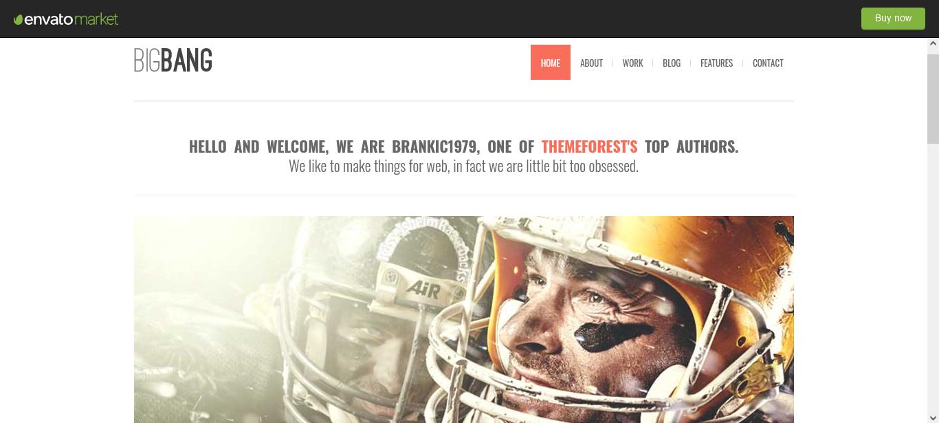 Bigbang WordPress Premium Theme