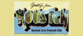 Houston area postcard