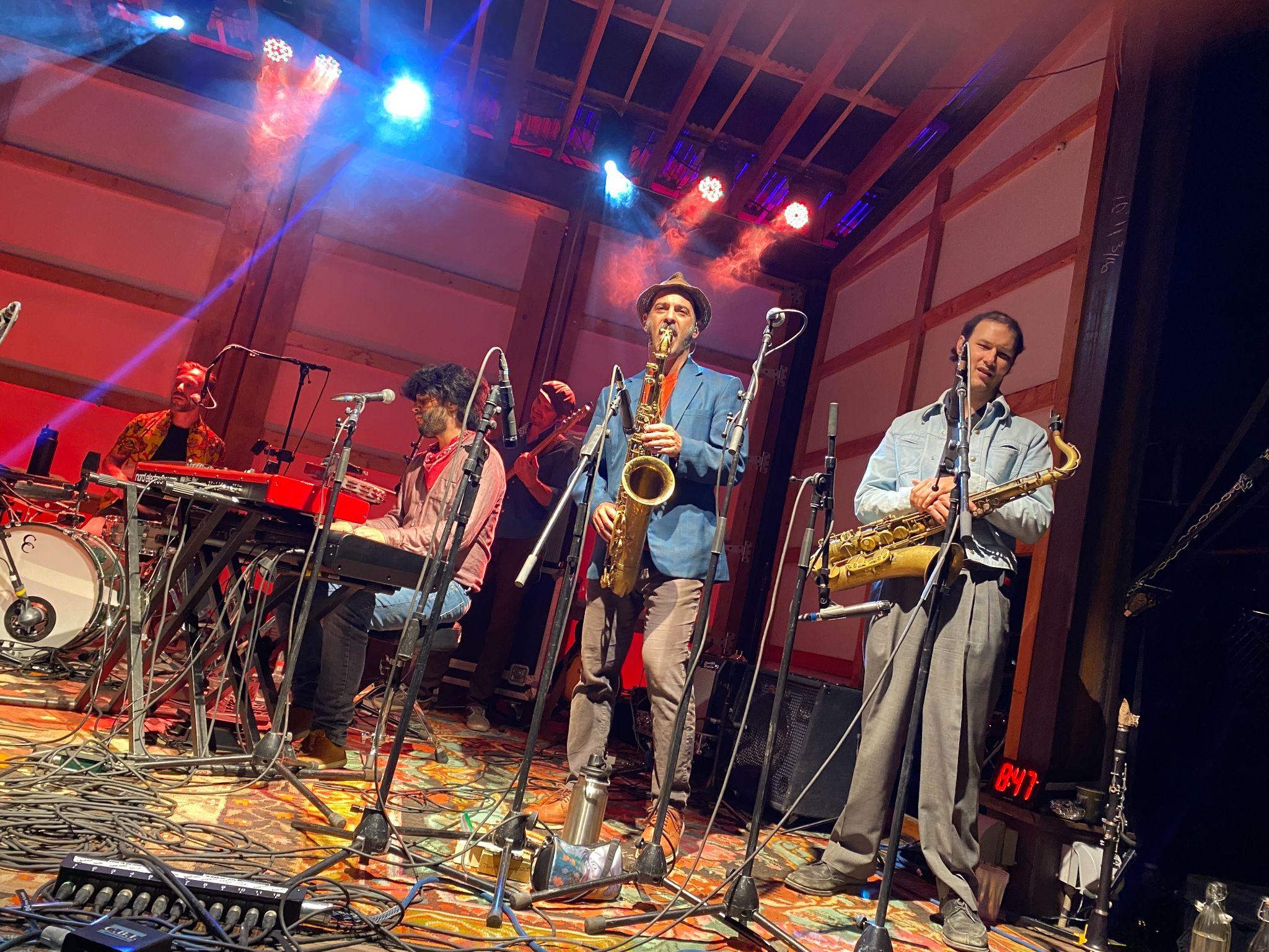 California Honeydrops perform in Buena Vista, Colorado