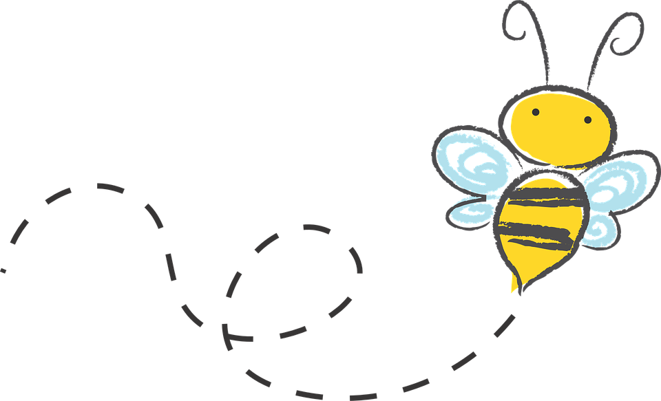 Bee, Cartoon, Bumble, Honey, ...