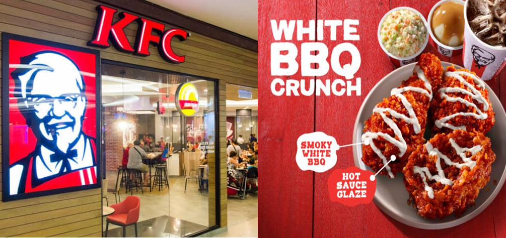 KFC Malaysia : Introducing All-New White BBQ Crunch
