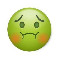 Image result for sick emoji