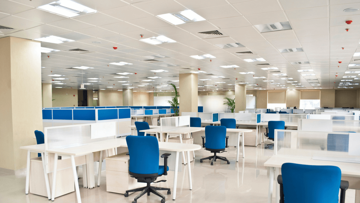 Different Types of Office and Commercial Building Lighting