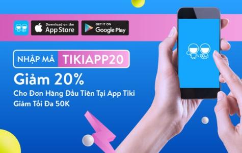 Mã giảm giá tiki app giúp người mua hàng mua được giá ưu đãi và hấp dẫn