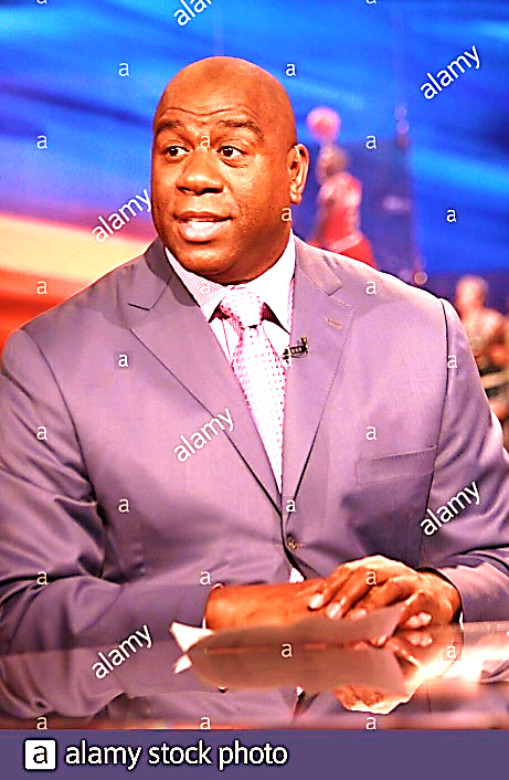 Earvin Johnson Jr High Resolution Stock Photography and Images - Alamy