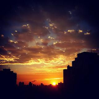Para o fotógrafo, um novo dia sempre traz novas luzes