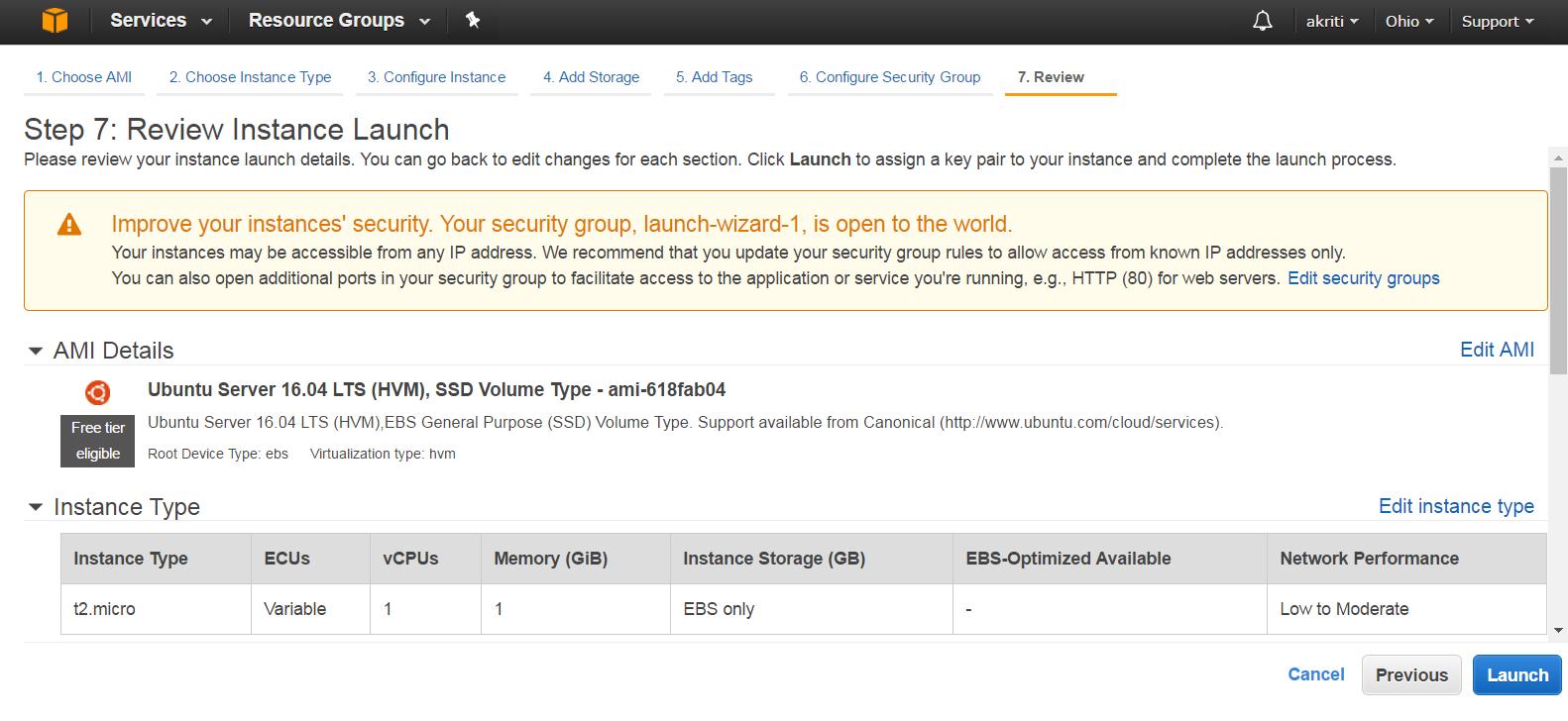 Create Virtual Machine on Amazon Web Services ( AWS ) 41
