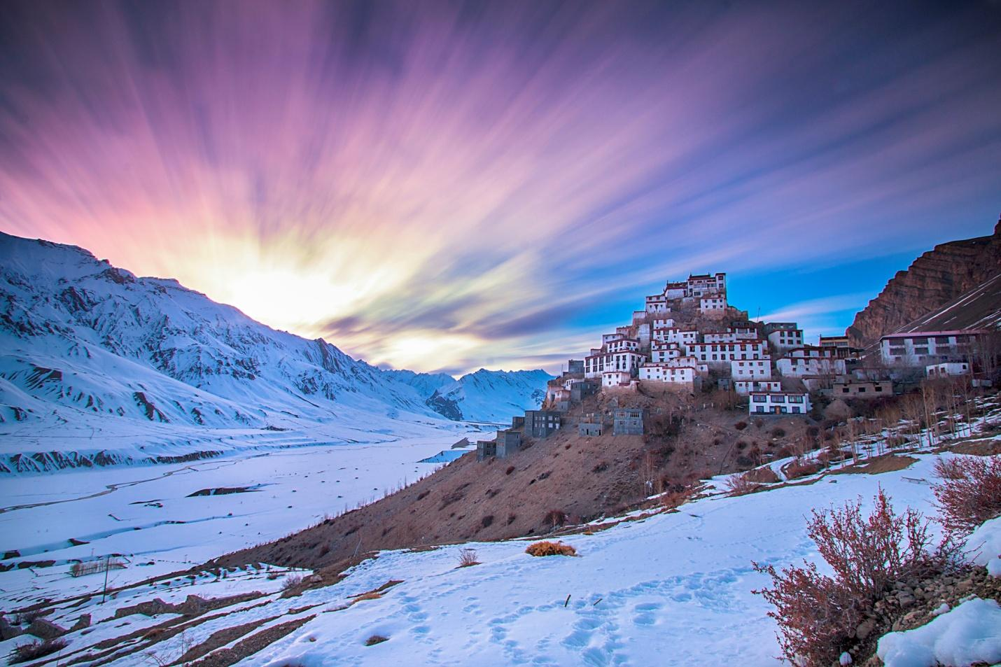Image result for key monastery images