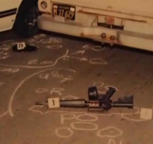 оружие преступников