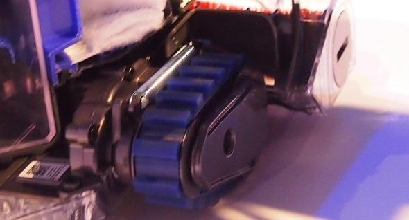 ベルト駆動式転輪