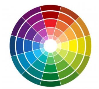 Palette de couleurs