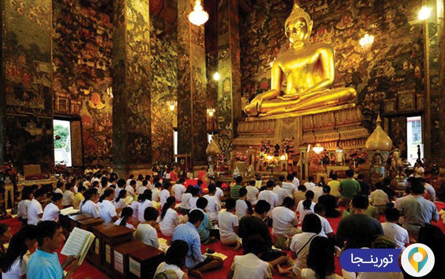 روز ویزاوا بوچا در تایلند