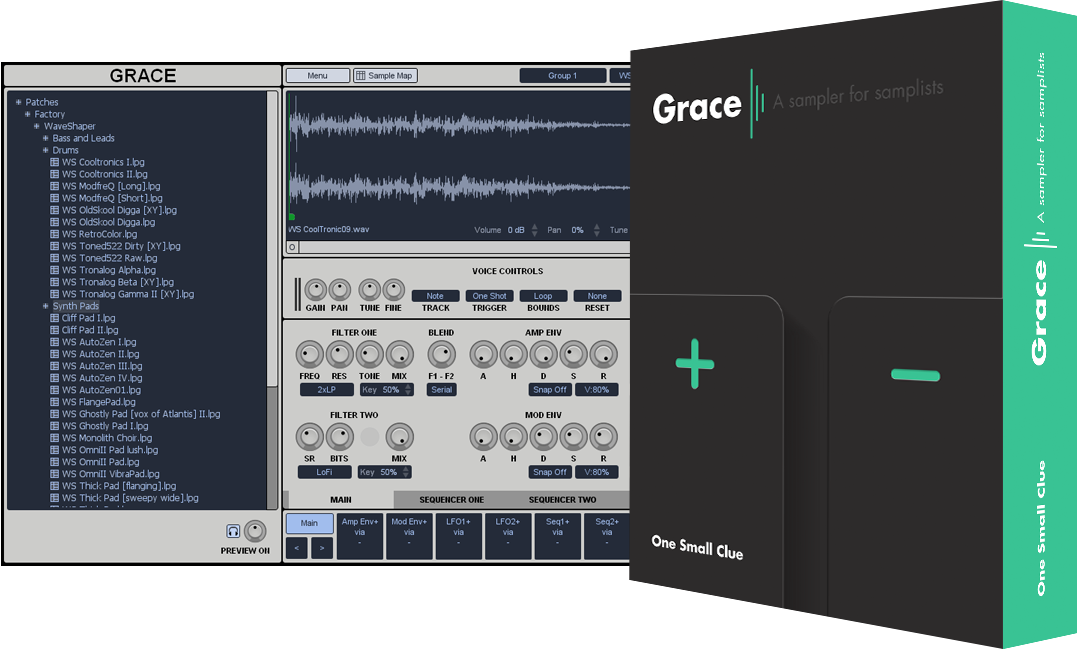 free audio sampler grace