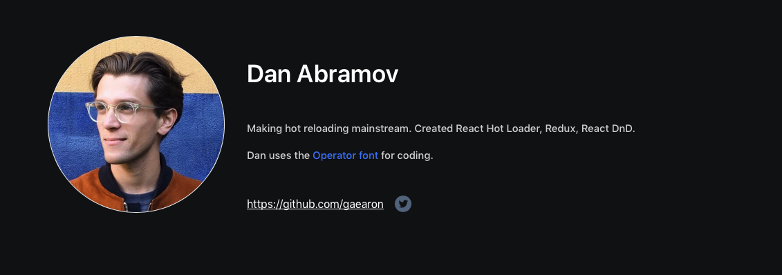 Top JavaScript Experts And Thought Leaders to Follow dan abramov
