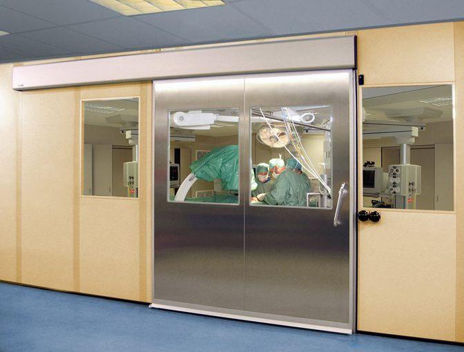 Cửa tự động phòng mổ phải đảm bảo vô trùng tuyệt đối