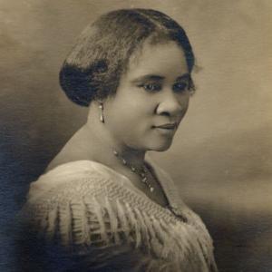 Madam CJ Walker -The Walker System / African American Hair Products celebrating Black inventors