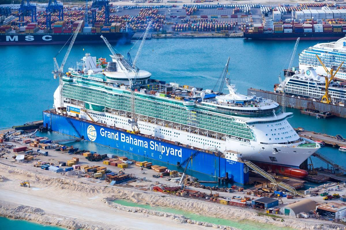 Grand Bahama Shipyard Reports Busy 2016