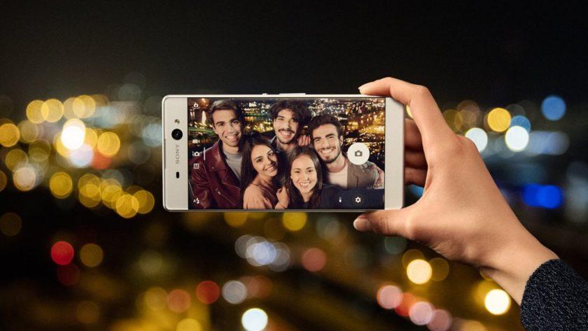 Смартфоны Sony Xperia XA Ultra: новый взгляд на съемку в темноте