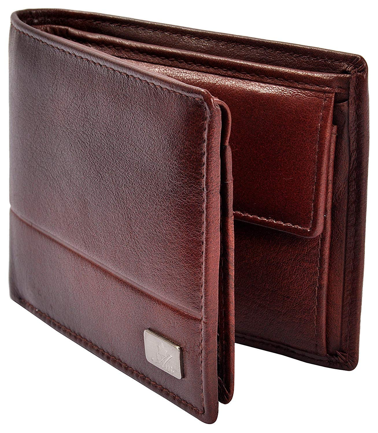 AM LEATHER Wallet Brown