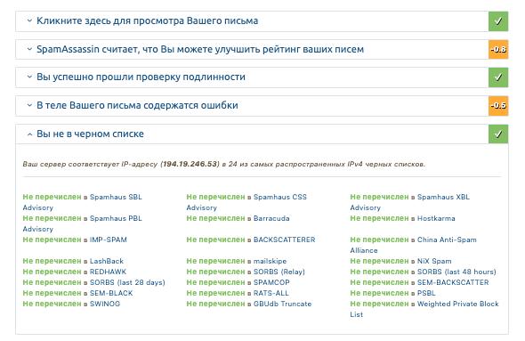 Репутация IP-адреса