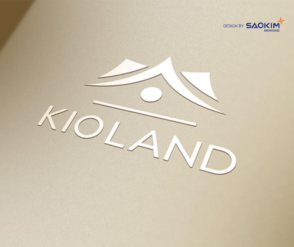 [Saokim.com.vn] Logo Công ty bất động sản Kioland thiết kế bởi Sao Kim Branding