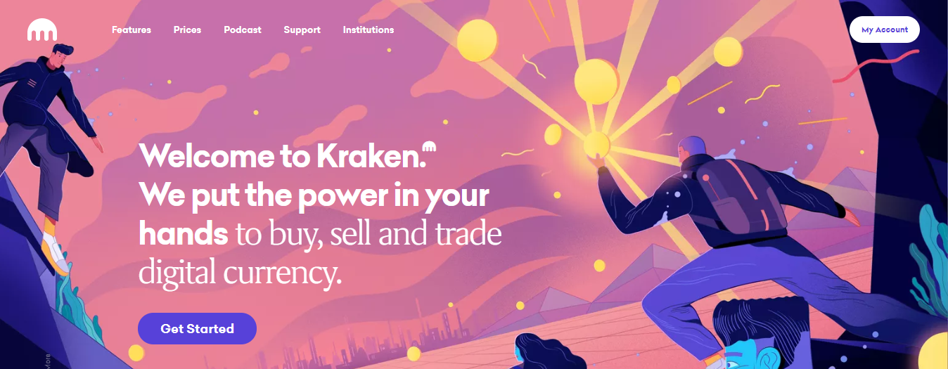 kraken cryptocurrency exchange