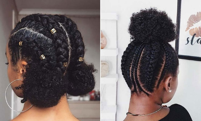 beautiful natural hair styles