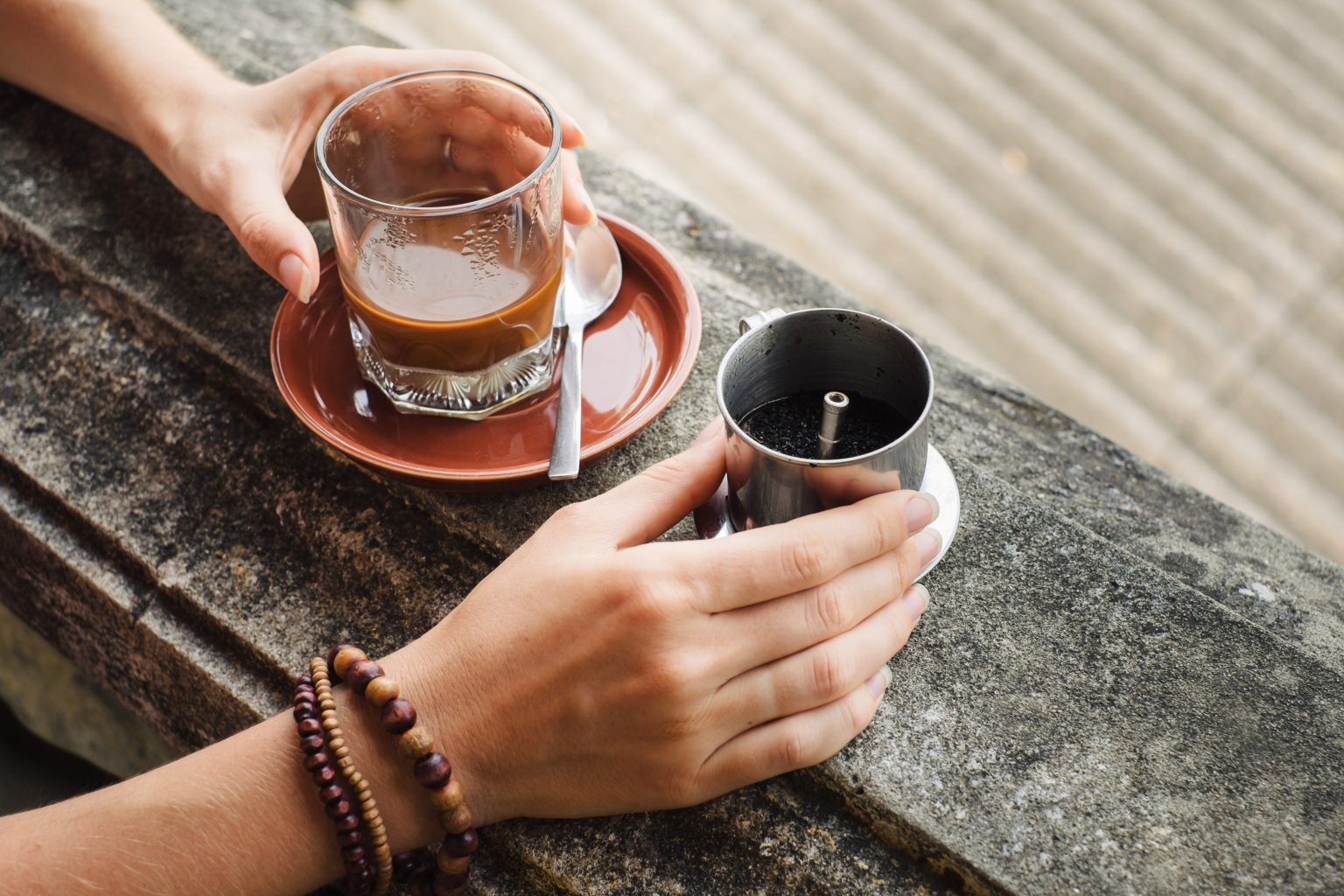 Vietnam drip coffee, ca phe phin
