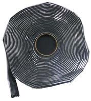 "2"" x 30' Black Butyl Tape"