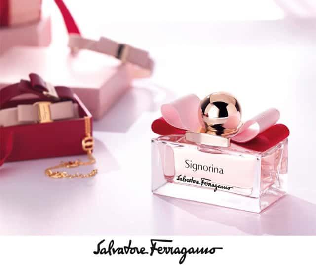 Thiết kế chai nước hoa Salvatore Ferragamo Signorina 100ml