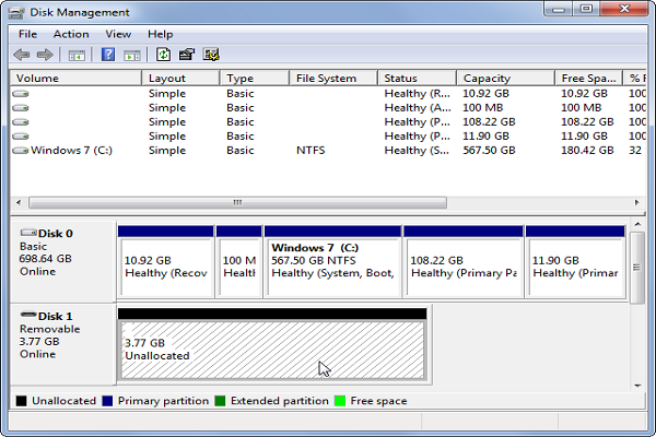 fix Hard Drive Not Recognized on Windows step 3