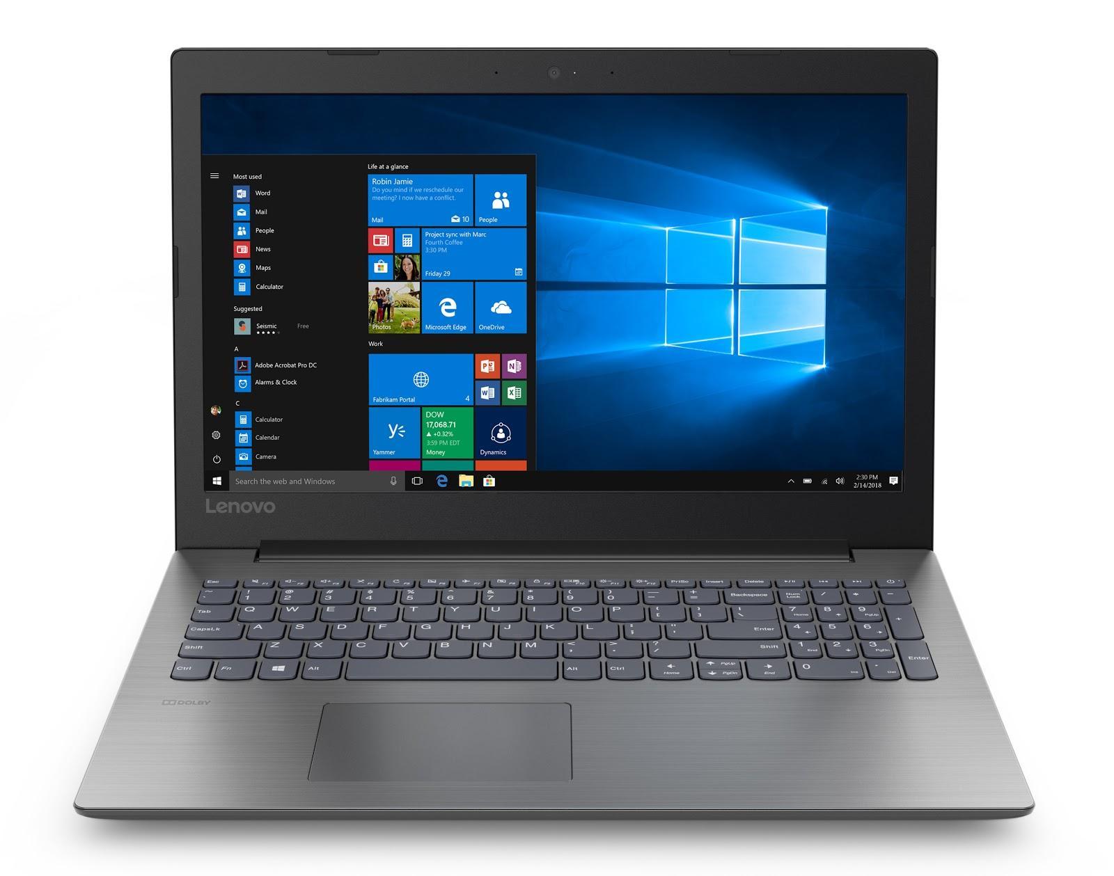 Фото 1. Ноутбук Lenovo ideapad 330-15 Onyx Black (81DE01PKRA)