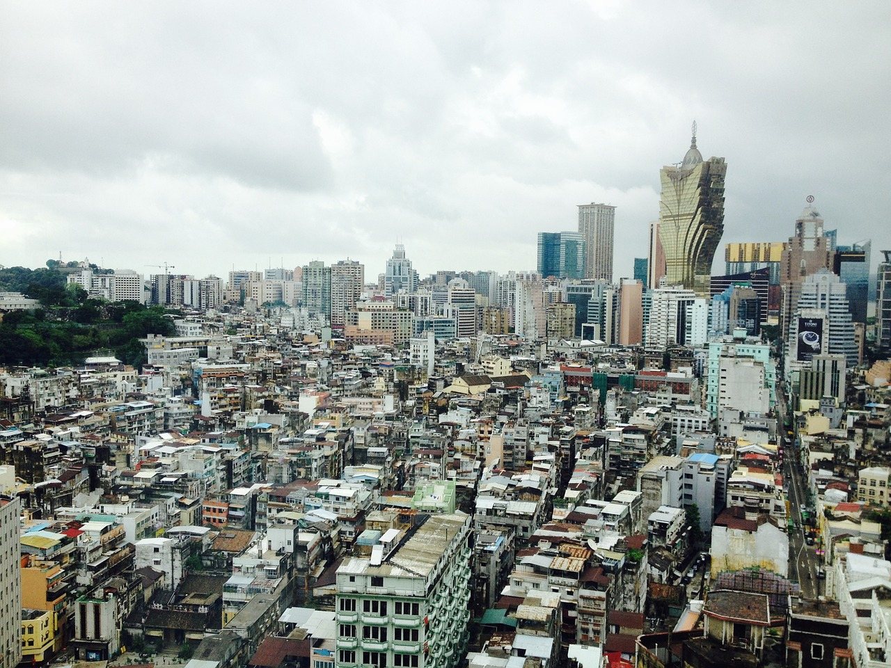 Macao Skyline by day