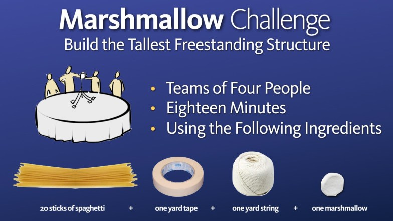 Image result for marshmallow challenge