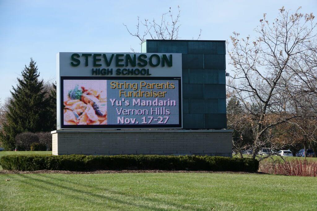 Buffalo Grove Stevenson high school