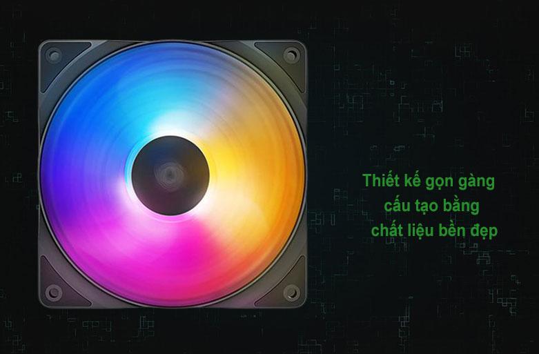 Quạt/ Fan case Deepcool RF120 FS RGB | Thiết kế gọn gàng